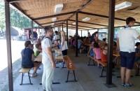 Edukacija izviđača na Ljetnom kampu Boračko jezero